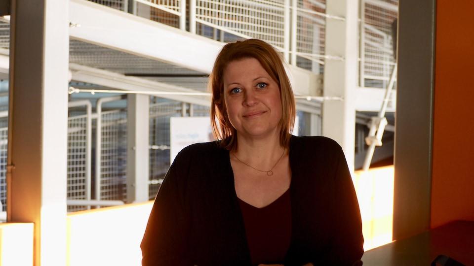 Sandra Gauthier, directrice d'Exploramer