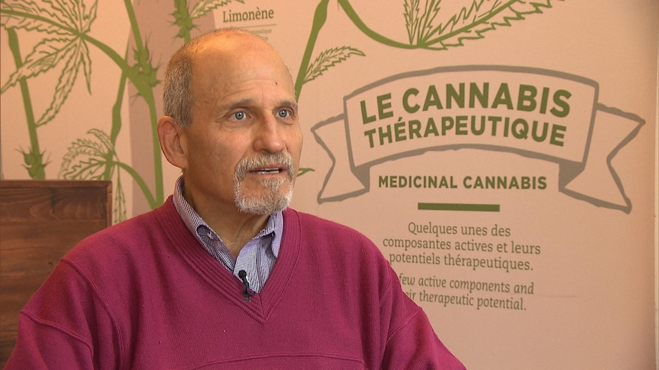 Le directeur de la clinique Santé Cannabis, Michael Dworkind.