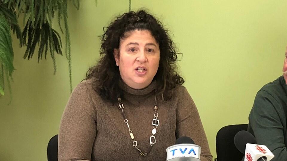 Nancy Gédéon,agente de planification, programmation et recherche - Santé mentale/Prévention du suicide/Substances psychoactives au CISSS de la Gaspésie