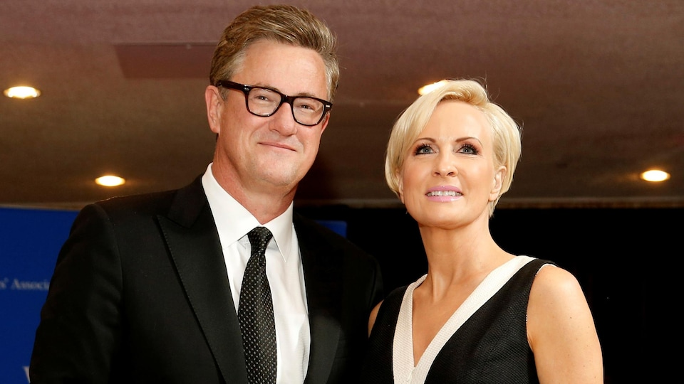 Les journalistes Joe Scarborough et Mika Brzezinski
