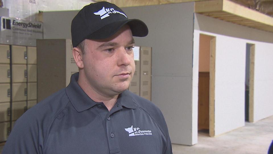 Sébastien Lemay, propriétaire de K9 Inspection de Sherbrooke.