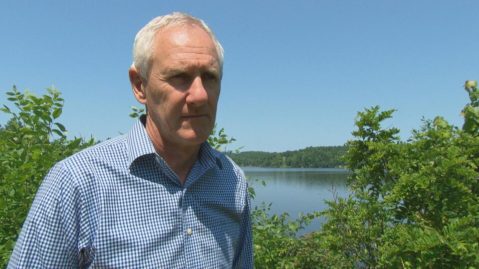 Tim Kehoe en entrevue à Radio-Canada