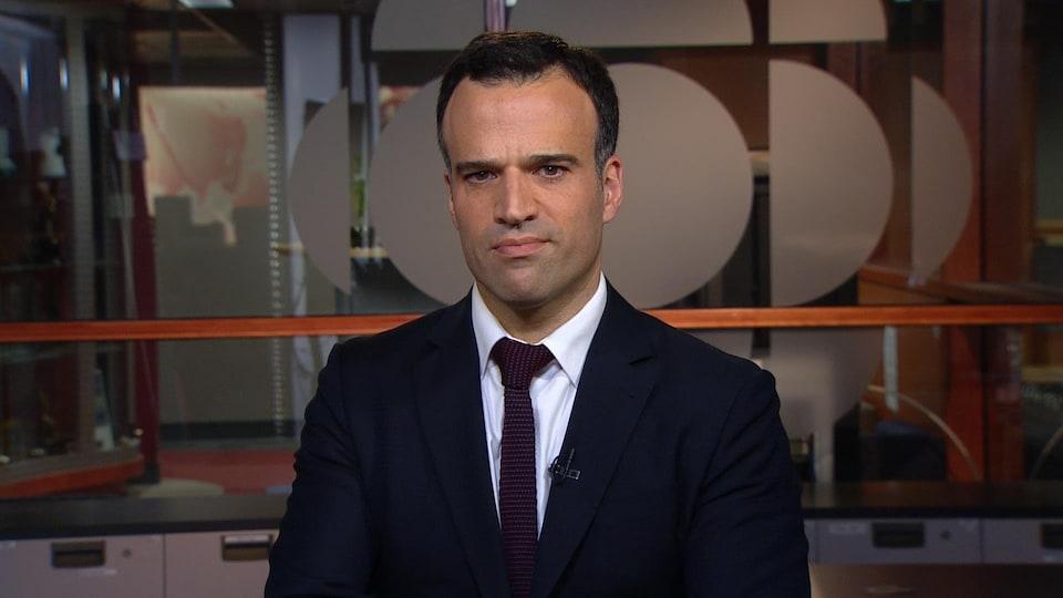 Serge Abergel, directeur des communications d'Hydro Québec.