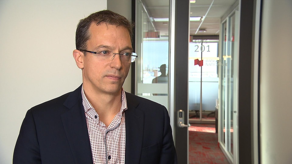 Serge Morin de la Financière Banque Nationale