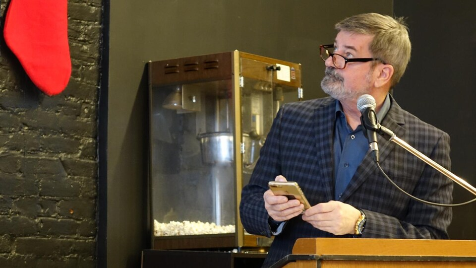 Serge Paquin, conseiller municipal et président du comité de stationnement à la Ville de Sherbrooke