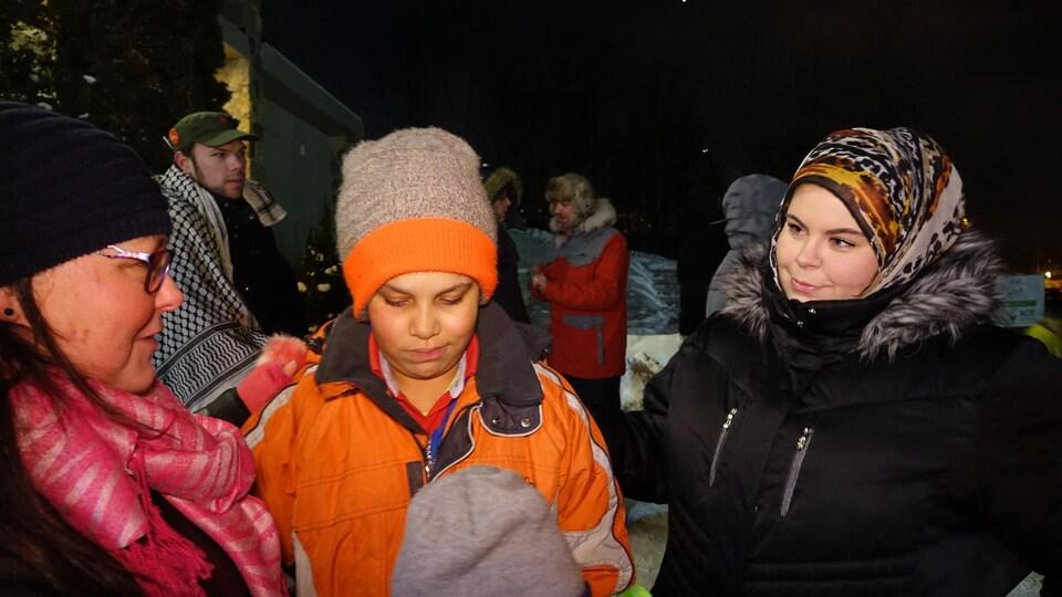 Shana Young (à gauche) et Ashley Stebenne-Grenier (à droite)