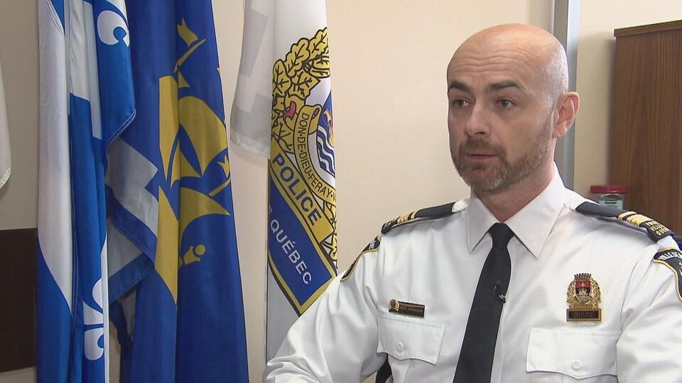 Simon Chouinard, lieutenant-détective au SPVQ