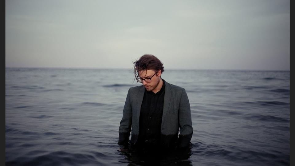 L'auteur-compositeur-interprète Simon Daniel.