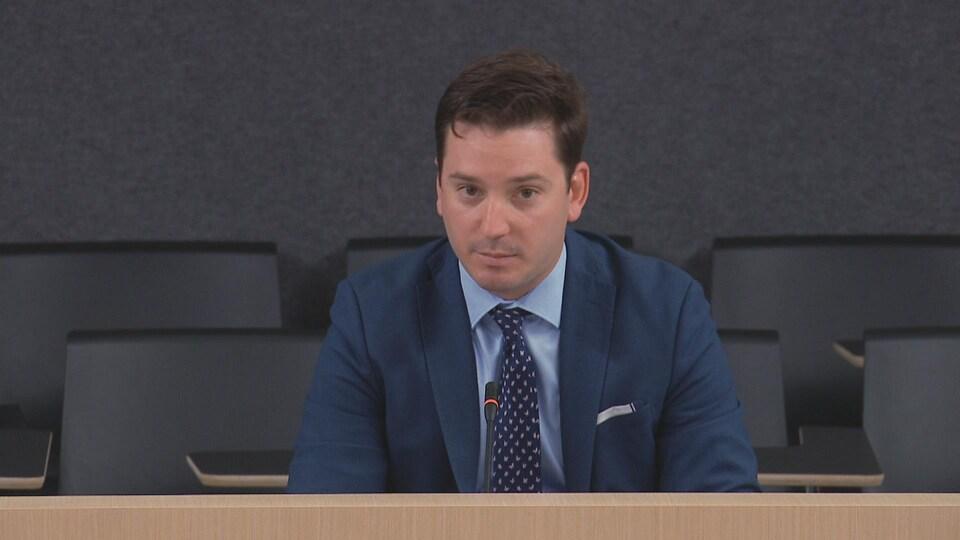 Simon Jolin-Barrette, ministre de la Justice.