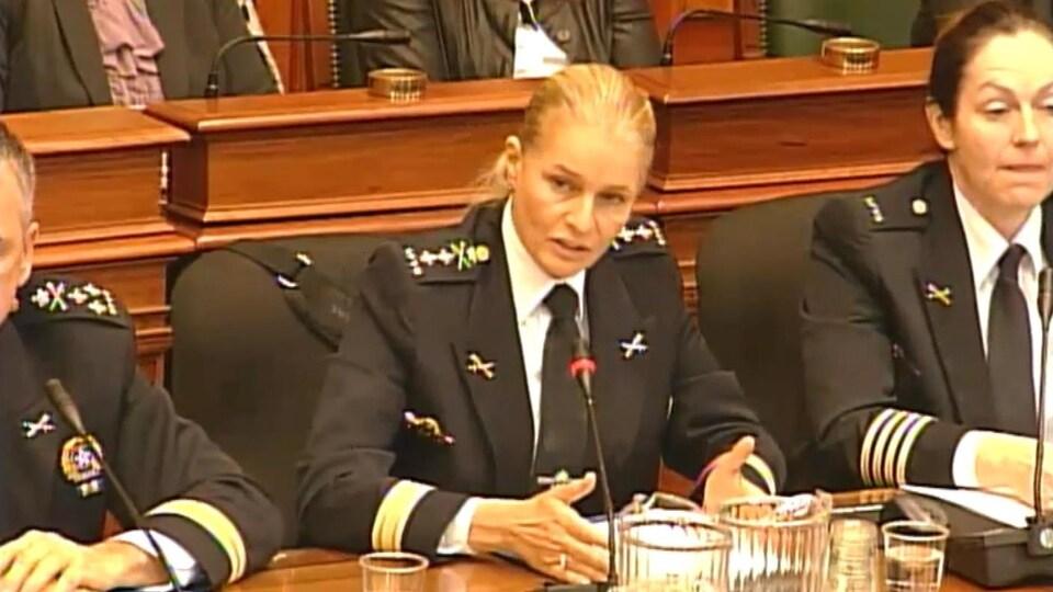 Simonetta Barth, chef de cabinet du directeur du SPVM.