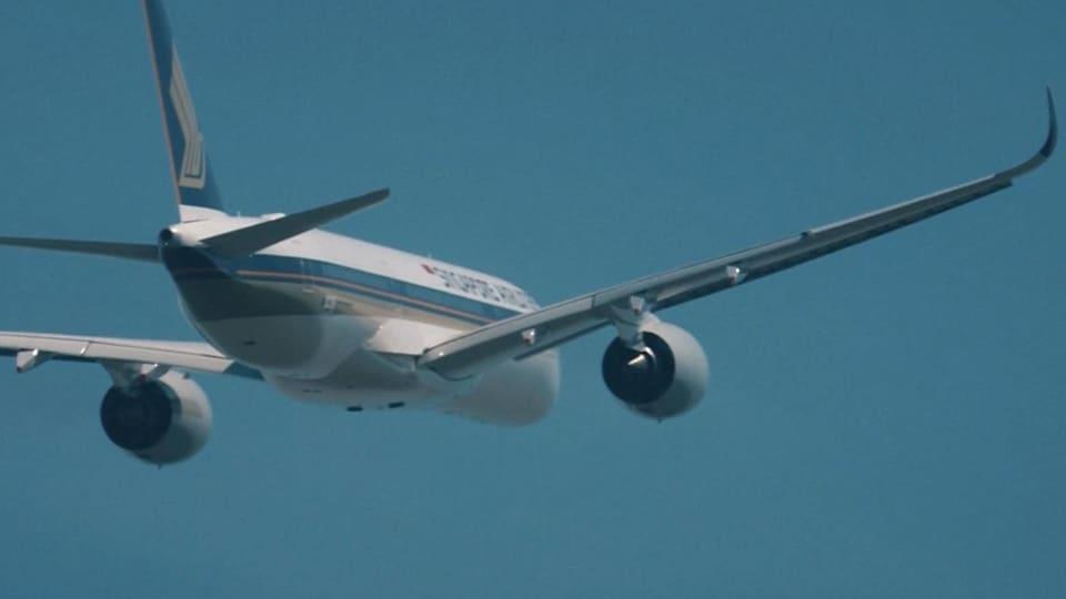 150 passagers ont pris place à bord de l'Airbus qui a décollé jeudi pour le plus long vol commercial au monde, un marathon de près de 19 heures entre Singapour et New York.