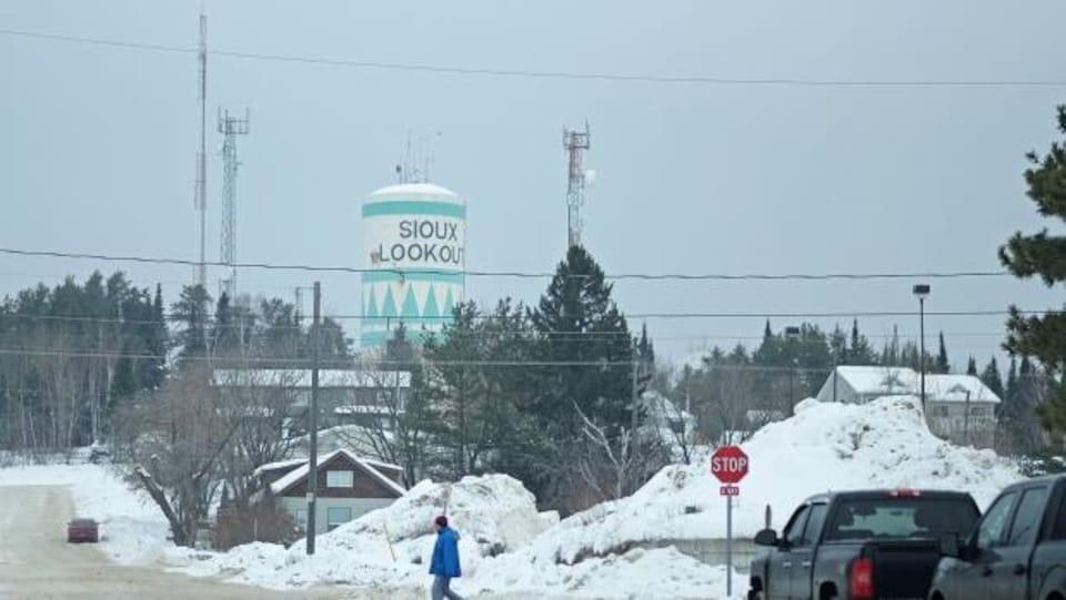 Vue de Sioux Lookout, une communauté de 5000 habitants au nord de l'Ontario.