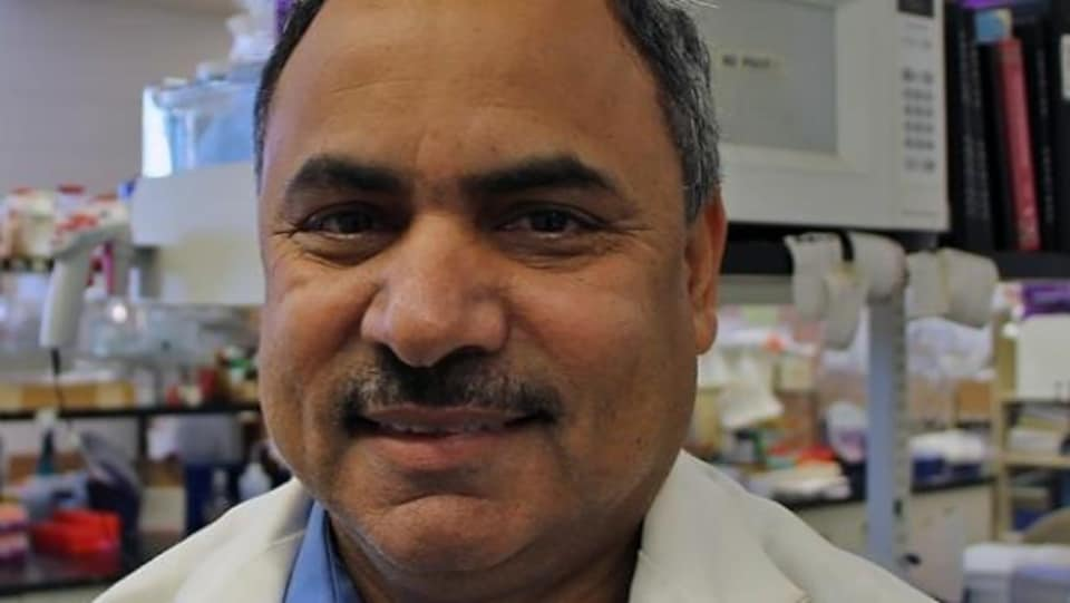 Siyaram Pandey, professeur de chimie à l'Université de Windsor.