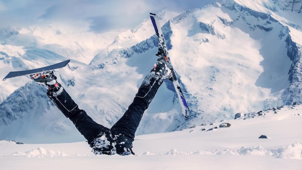 la docteure Annie Gareau est habituée aux chutes en ski