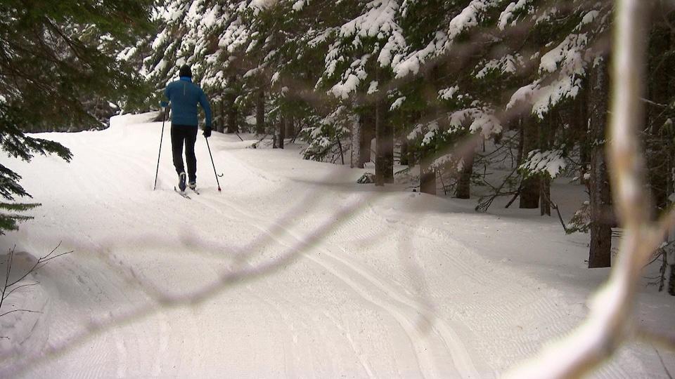 La diversité des sentiers offerte par le club les Éclairs est appréciée des skieurs