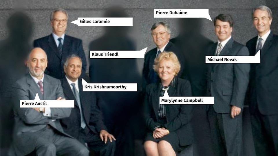 Membres de la direction de SNC-Lavalin en 2004