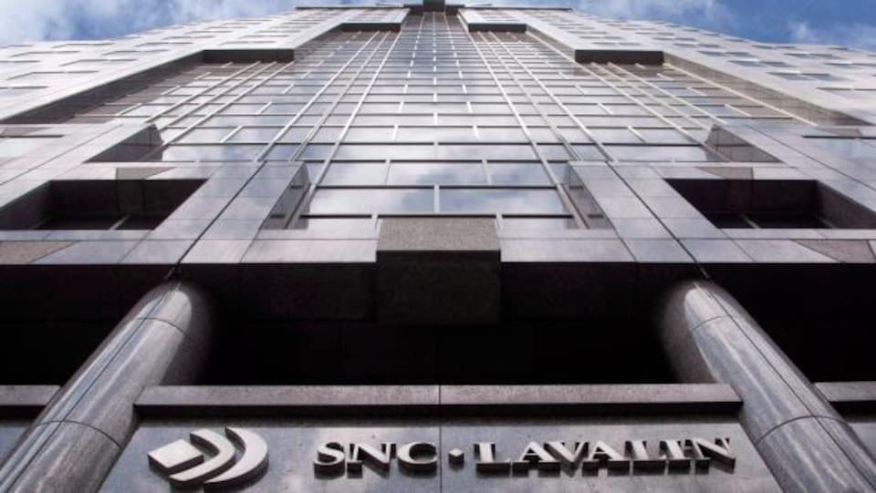 Le siège social de SNC-Lavalin à Montréal.