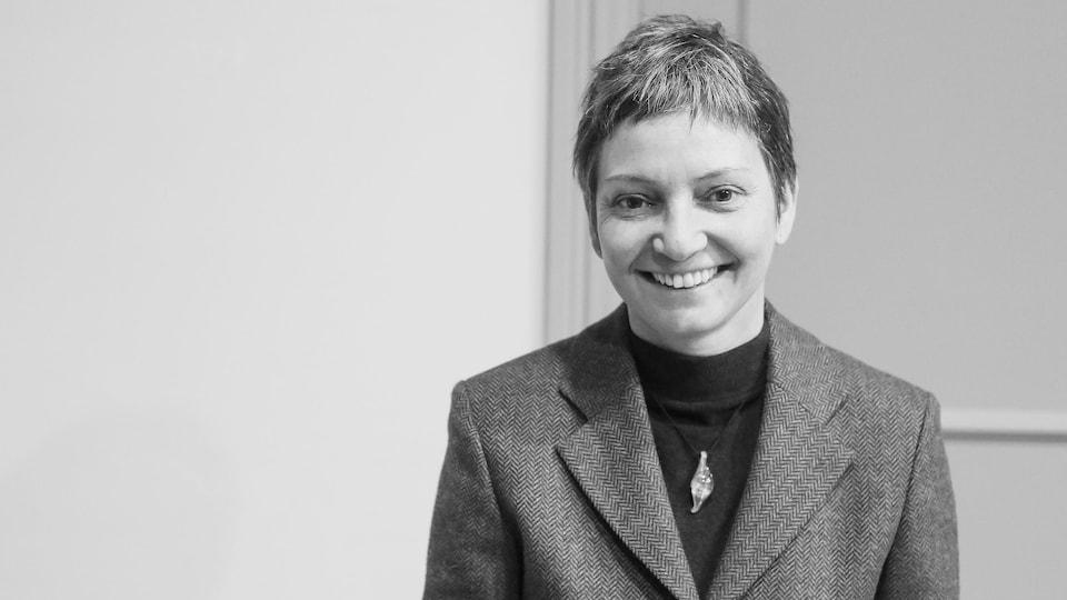 Portrait de la sociologue Pascale Dufour.