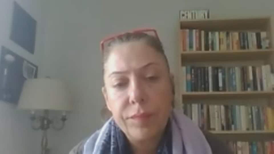 Sogol Zand, militante pour les droits des réfugiés