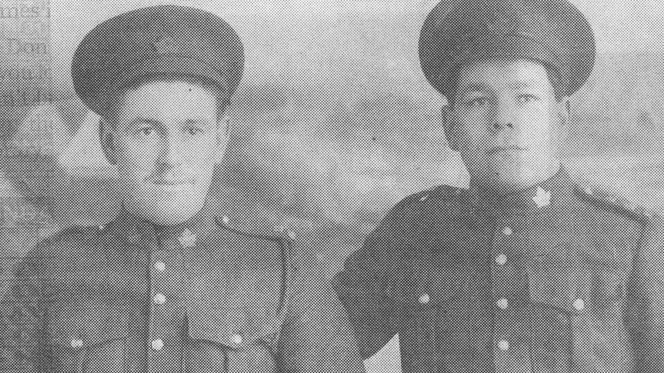 Deux soldats de la première Guerre mondiale