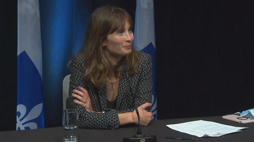Sophie Gagnon, directrice générale de Juripop.
