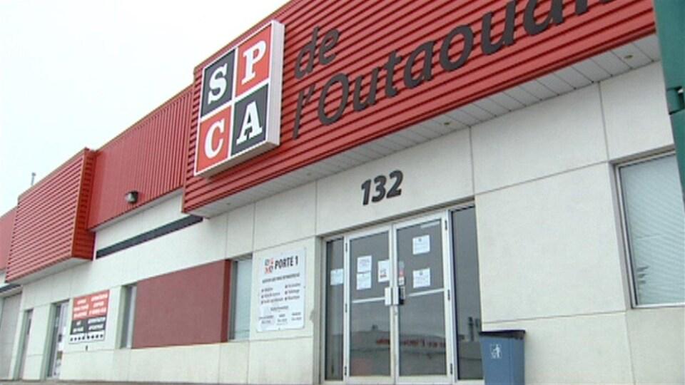 Les bureaux de la SPCA de l'Outaouais