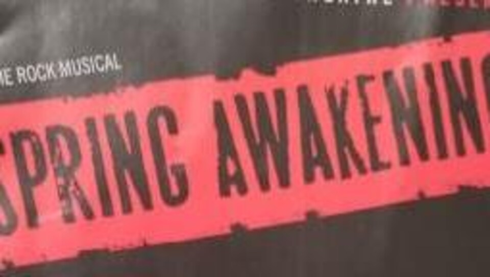 Une image de la programmation de Spring Awakening.