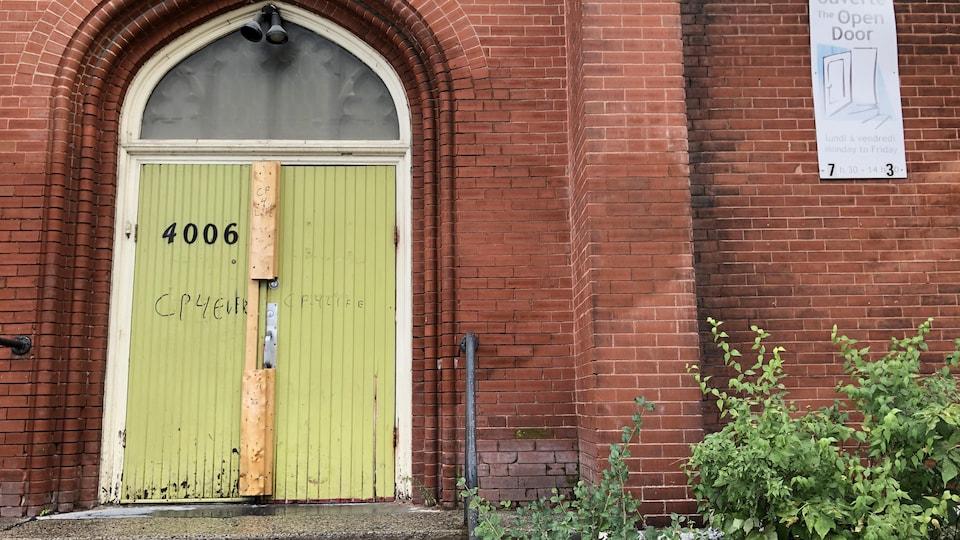 L'église anglicane reconvertie située près du square Cabot.