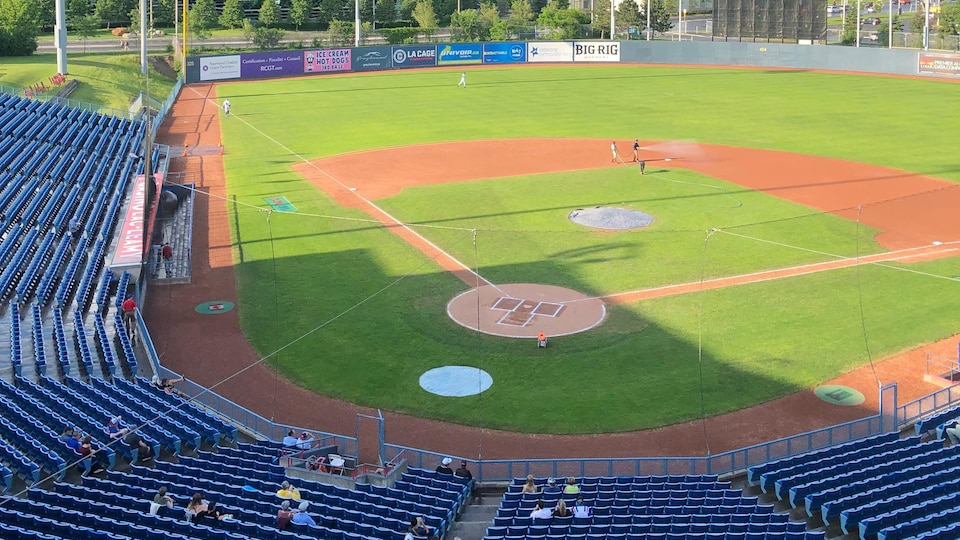 Un stade de baseball