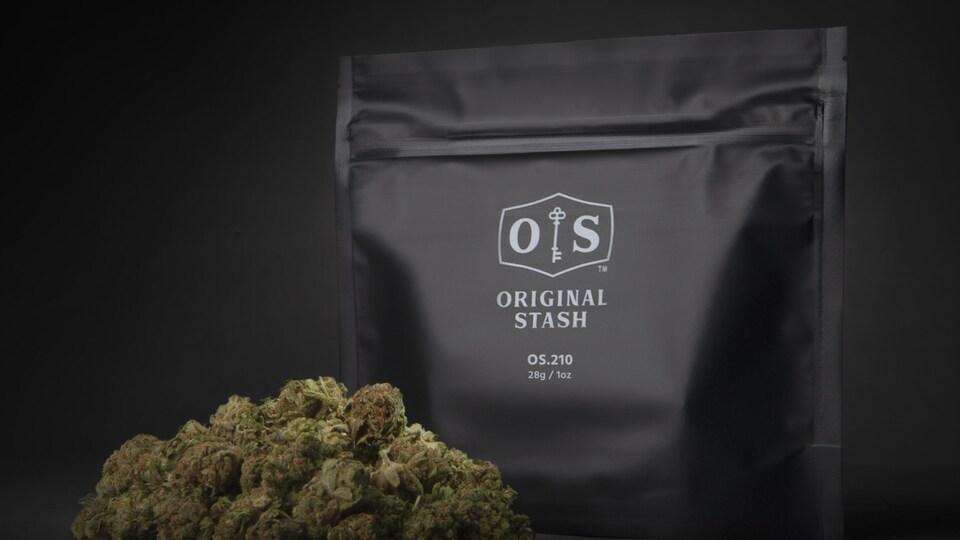Un sac de cannabis.
