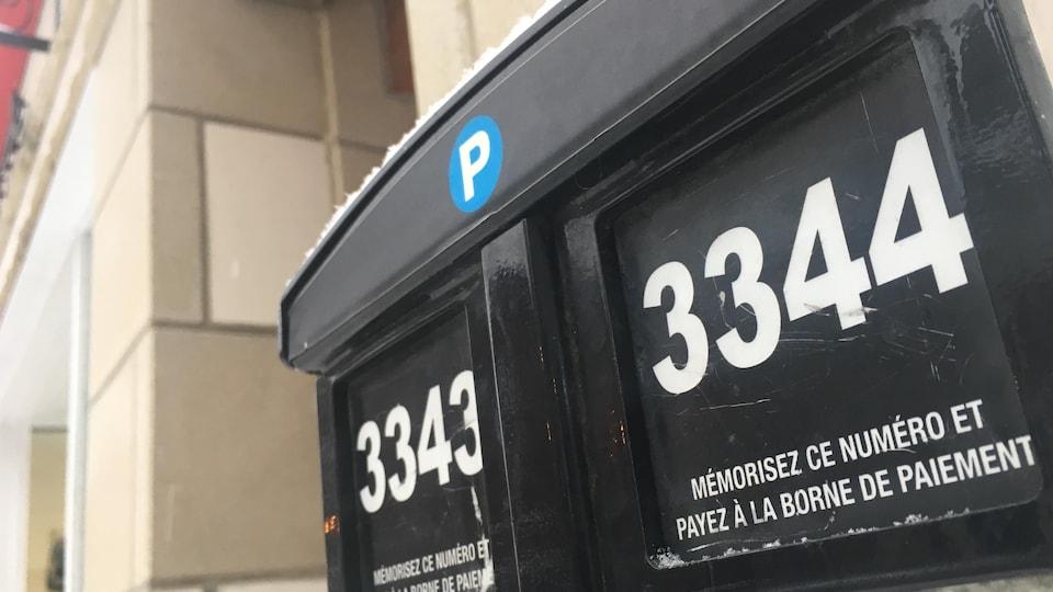 Des places de stationnement à Sherbrooke