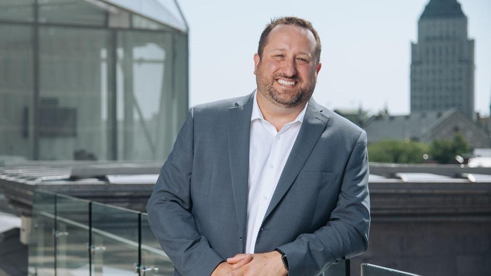Steeve Lavoie, président de la Chambre de commerce et de l'industrie de Québec