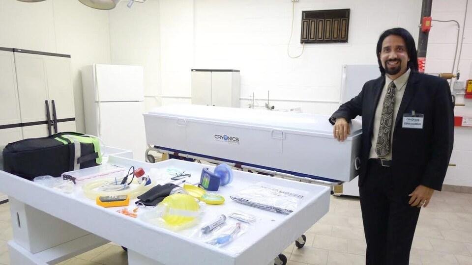 Stephan Beauregard, Cryonics Institute