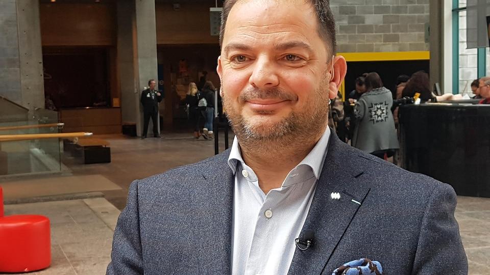 Le directeur général du Musée de la civilisation, Stéphan La Roche.