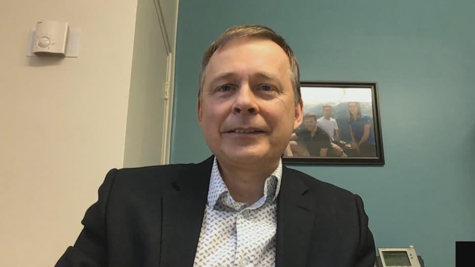 Dr Stéphane Bergeron, directeur des services professionnels au CHU de Québec