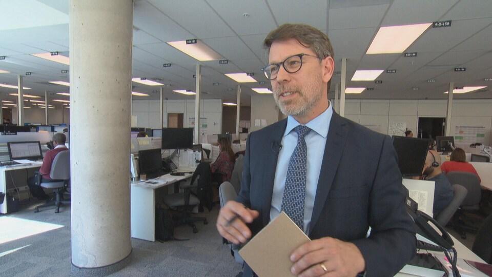 Le directeur général des élections Stéphane Perrault