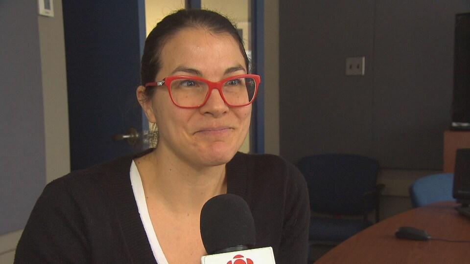 Stéphanie Vachon en entrevue