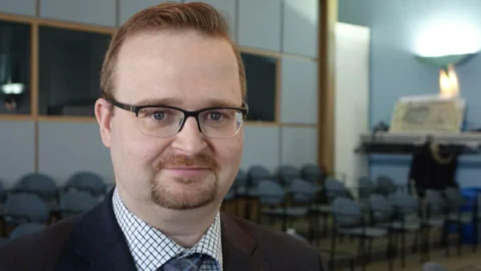 Le candidat libéral Stephen Blais.
