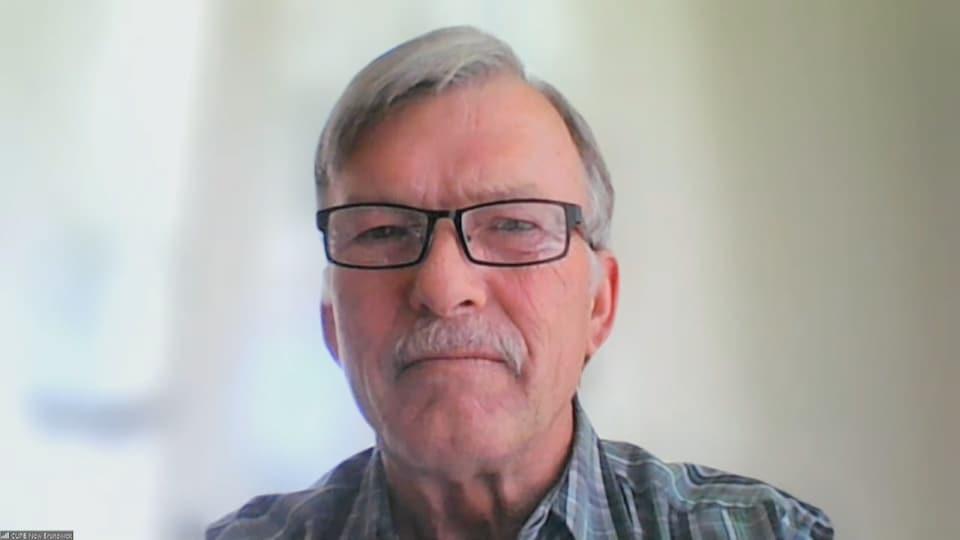 Stephen Drost, président provincial de la division du Nouveau-Brunswick du Syndicat canadien de la fonction publique.