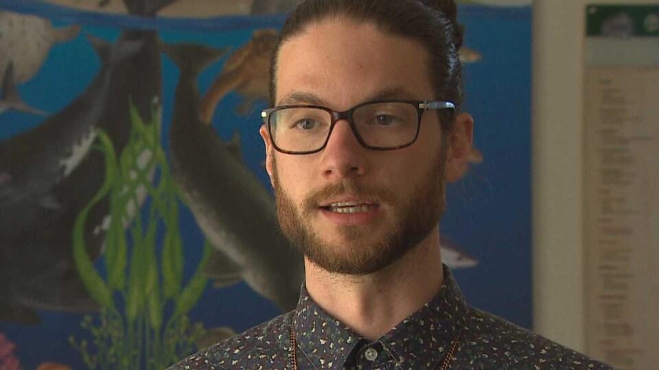 Stephen Thomas, du Centre d'action écologique
