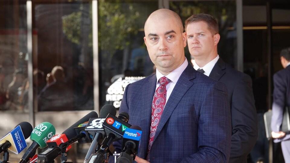 Le sergent-détective Steve Bereziuk de la police de Hamilton