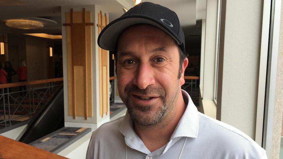 Steve Hébert, ambulancier paramédical et représentant syndical.
