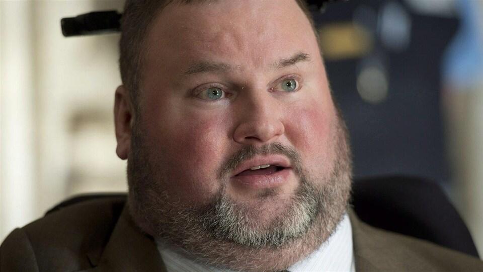 Le député manitobain Steven Fletcher.