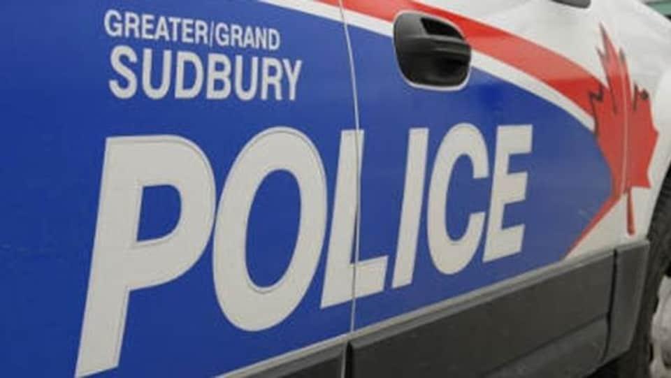 Un véhicule de la police de Sudbury