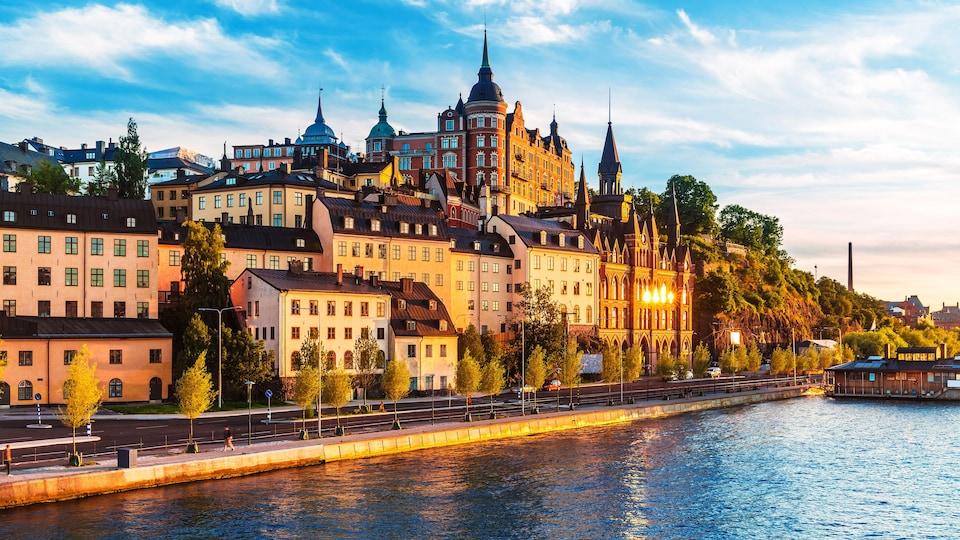 Stockholm. Capitale de la Suède