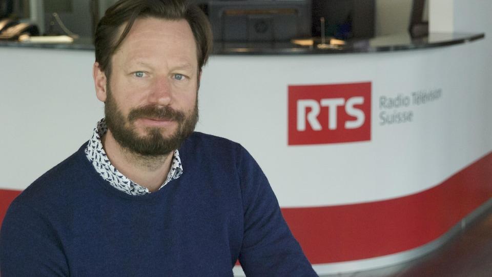 Sébastien Faure, producteur de l'émission Mise au point à la RTS