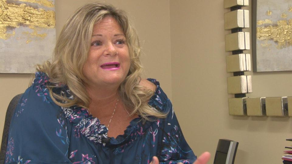 Susie Proulx-Daigle, présidente du syndicat du Nouveau-Brunswick.