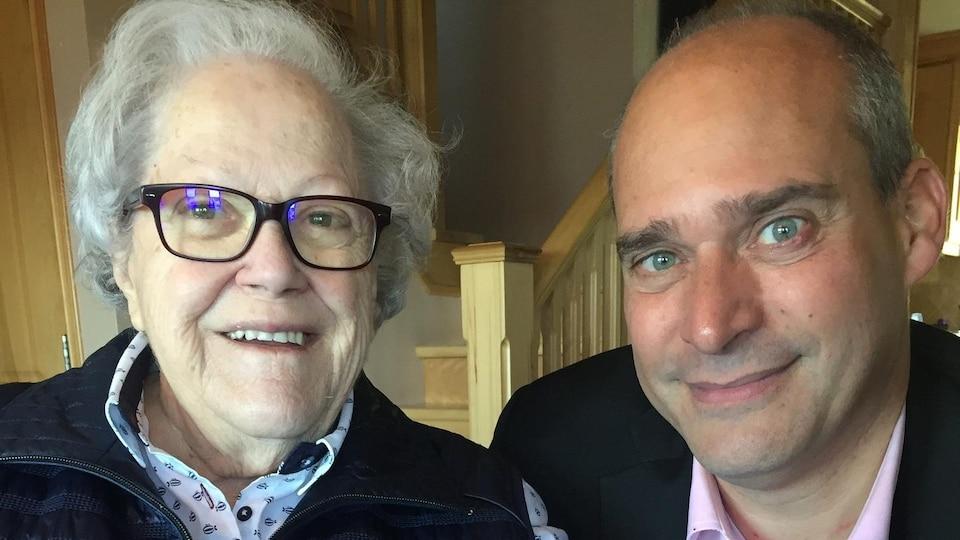 Suzanne Tremblay et Guy Caron.