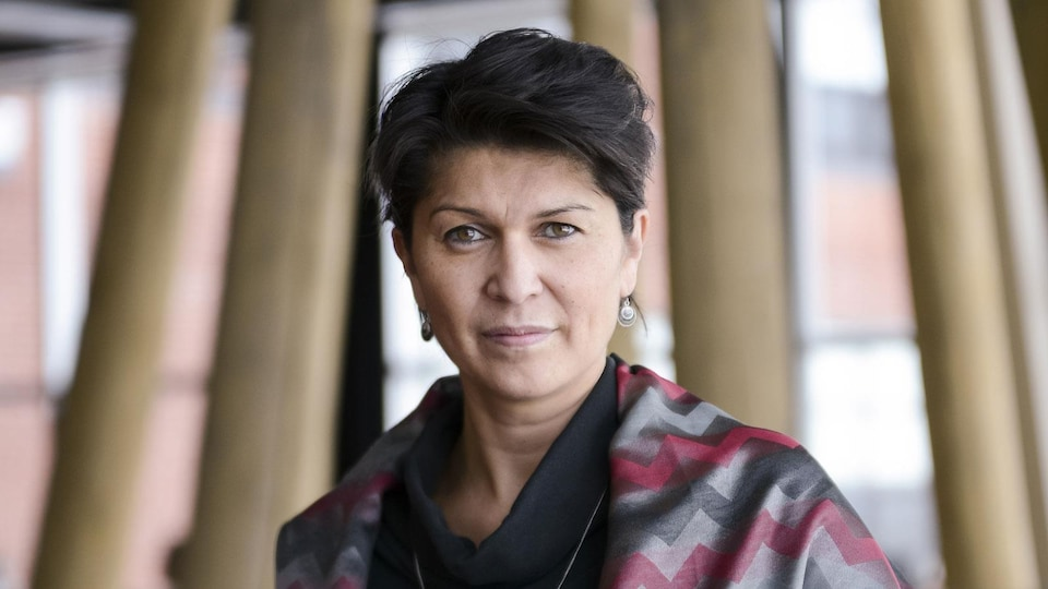 La professeure de l'École d'études autochtones de l'Université du Québec en Abitibi-Témiscamingue (UQAT), Suzy Basile.