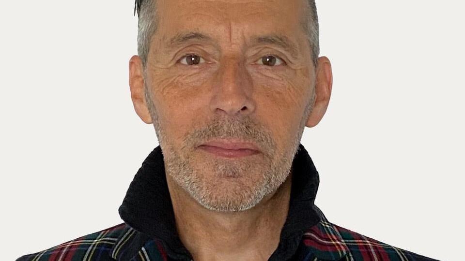 Le candidat du Parti vert du Canada dans Compton-Stanstead, Sylvain Dodier.